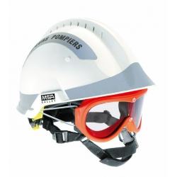 Casque F2-XTREM Sapeurs-Pompiers bandes rétroréfléchissantes grises - MSA GALLET