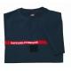 Tee-shirt Sapeurs Pompiers 100% coton Marine