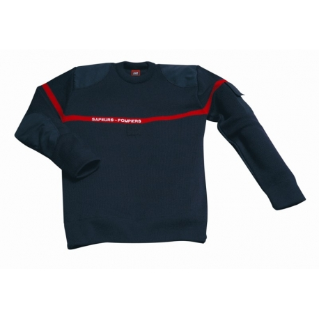 Pull sapeurs- pompiers Marine Hiver