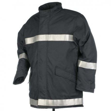 Veste textile intervention feu