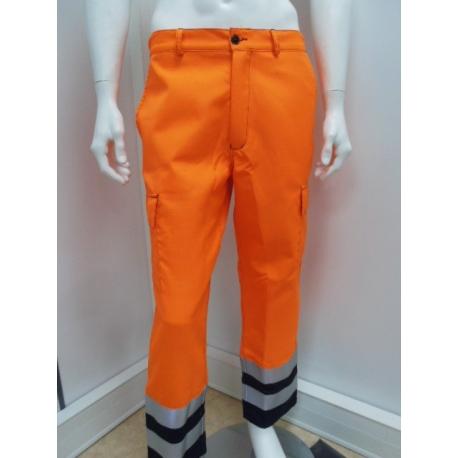 Pantalon multirisque haute visibilité