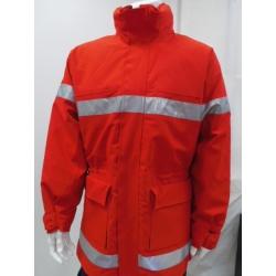Parka sécurité incendie rouge