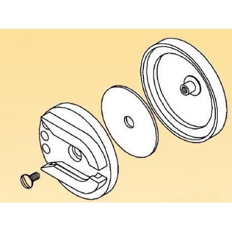 Support de lampe pour casque - MSA GALLET