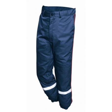 Pantalon sapeurs-pompiers F1 Kermel Viscose marine
